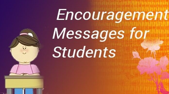 Encouragement Messages for Students
