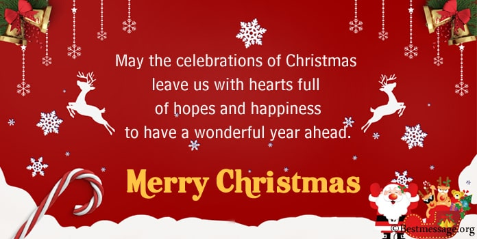 Merry Christmas Wishes Images, Inspirational Christmas Greetings Messages