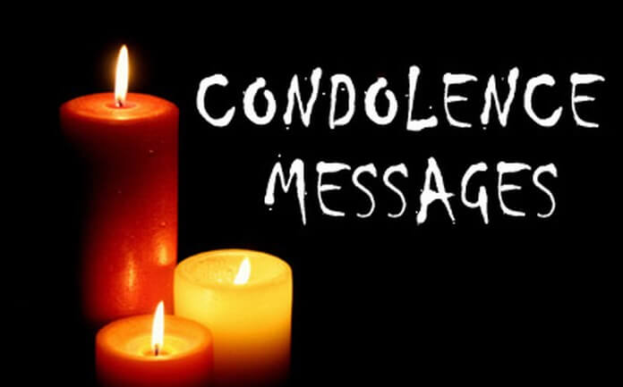 sample condolence messages