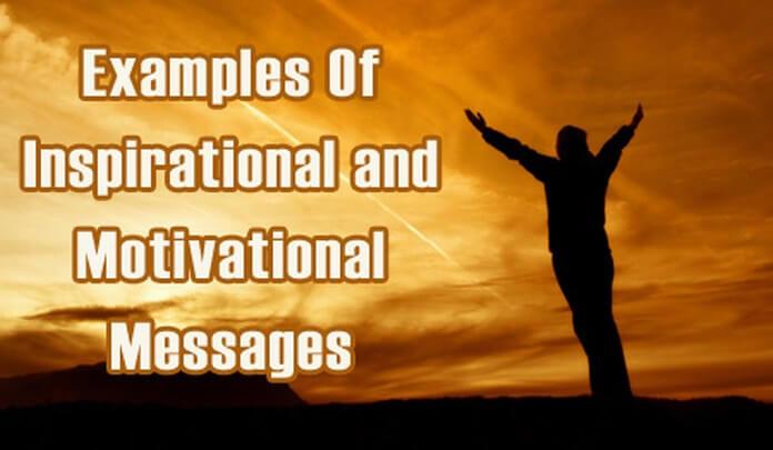 Inspirational Messages Sample Motivational Text Message Gorgeous Inspirational Messages