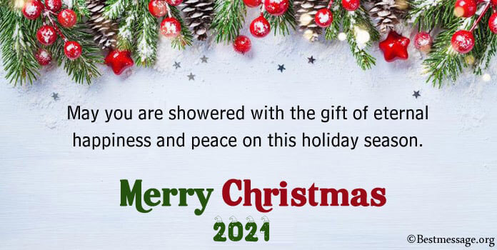 Best Merry Christmas Wishes, Short Christmas Messages Image