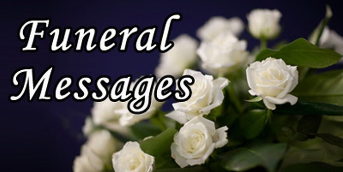 Funeral Messages