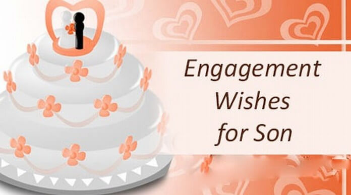 Sample Engagement Wishes for Son