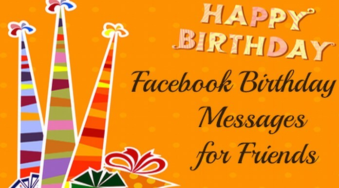 Birthday Messages for Facebook Friends
