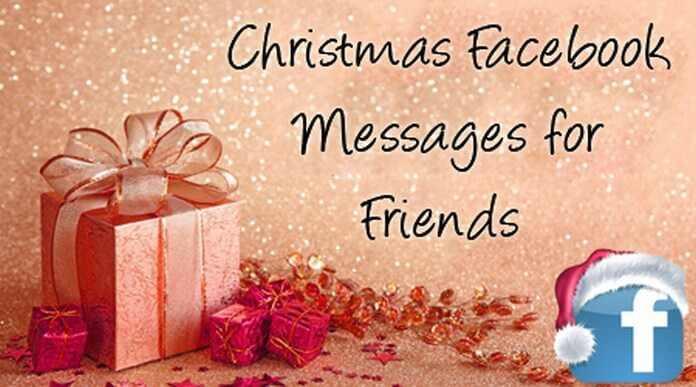 Christmas Facebook Messages for Friends
