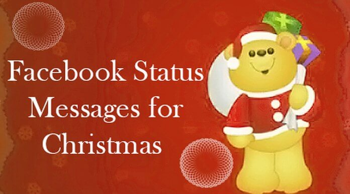 Cute Facebook Status Messages for Christmas