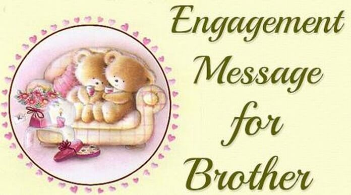 Engagement messages for brother brother engagement wishes engagement messages for brother m4hsunfo