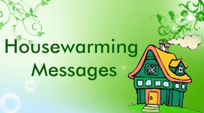 Housewarming Messages Sample