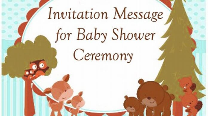 Invitation Messages for Baby Shower Ceremony