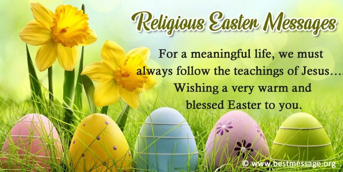 Religious Easter Messages Images