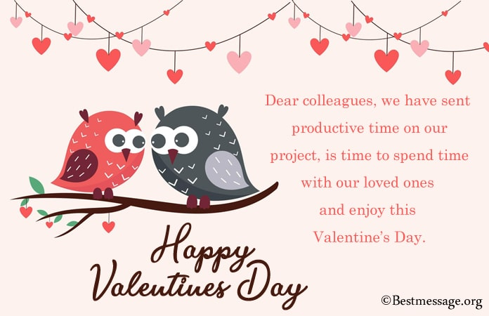 Best Valentine Day Wishes, Valentine Messages Colleagues