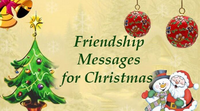 Friendship Messages for Christmas