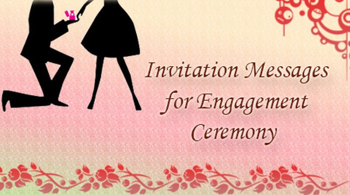 Invitation messages for engagement ceremony best message stopboris Images