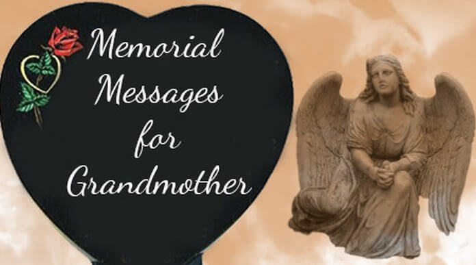 Memorial Messages for Grandmother