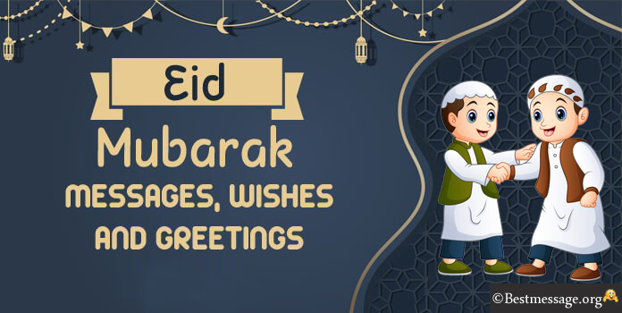 Happy Eid mubarak wishes messages - Eid ul fitr Messages images