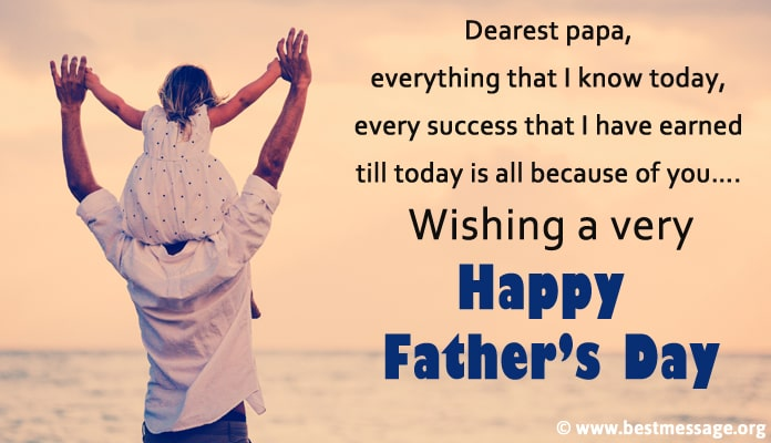 Fathers Day Greeting Cards Messages