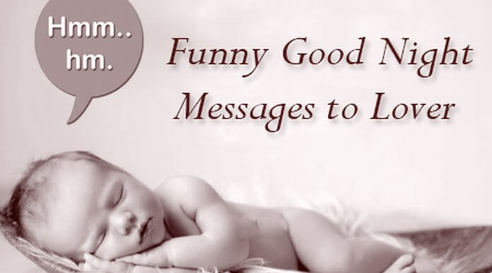 Funny good night messages to lover