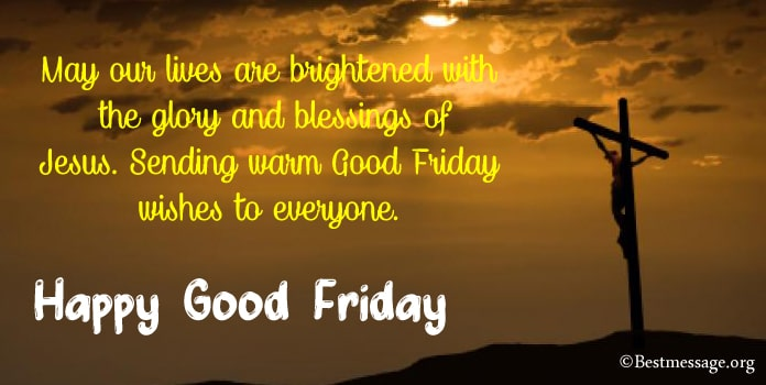 Good Friday Messages, Good Friday Wishes in English