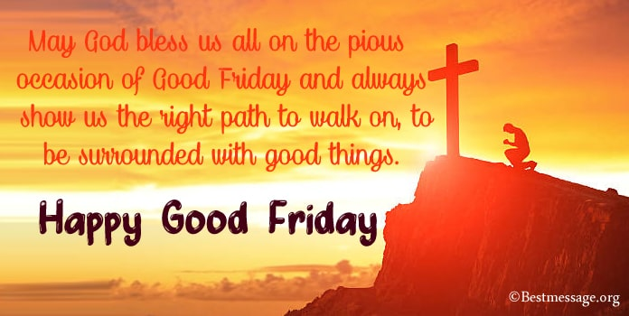 Good Friday Messages Status, Good Friday Whatsapp Messages