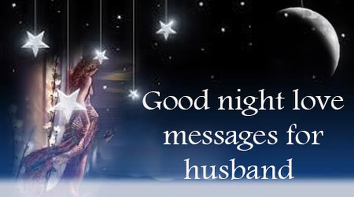 Good Night Love Messages to Husband