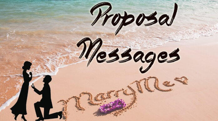 romantic proposal messages