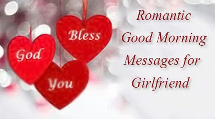 Romantic messages for a girlfriend