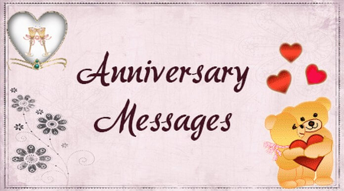 sample happy anniversary messages