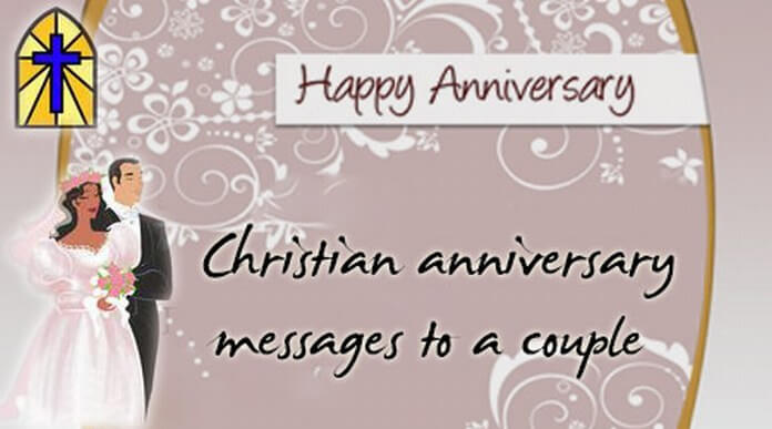 Christian Anniversary Messages to a Couple