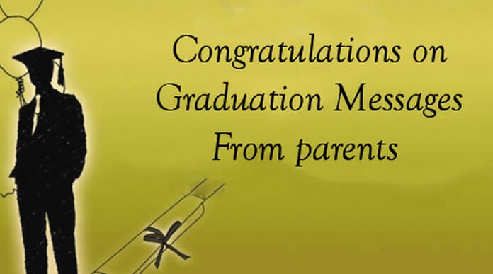 Congratulations graduation messages parentsg m4hsunfo