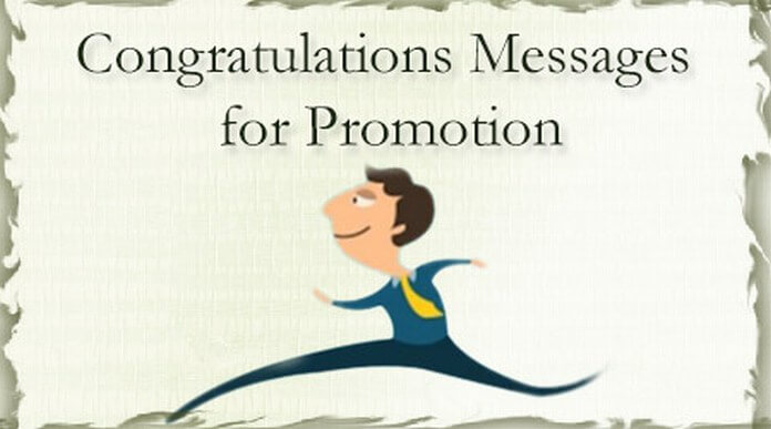 Congratulations Messages for Promotion