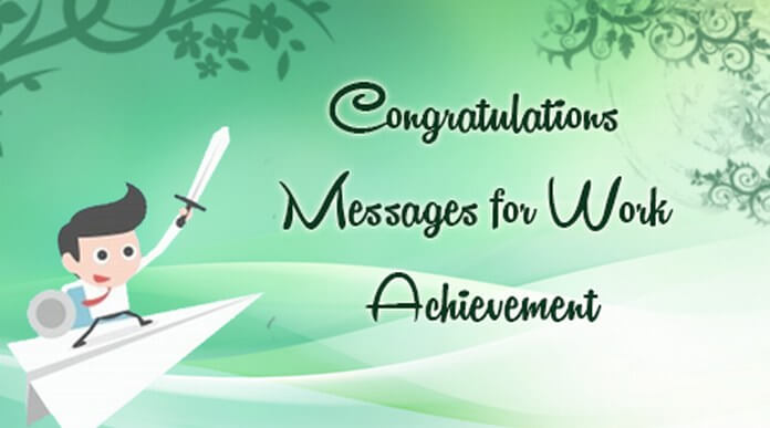 Congratulations Messages for Work Achievement