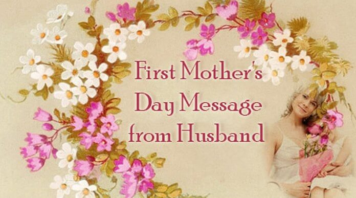 First Mother's Day Message from Husband