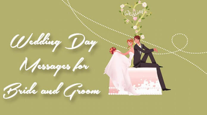 Wedding Day Messages for Bride and Groom
