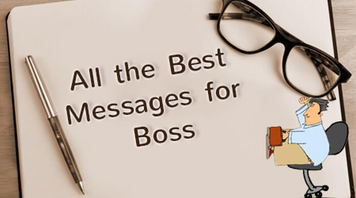 All the Best Message for Boss