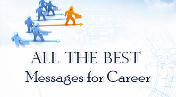 All the Best Message for Career