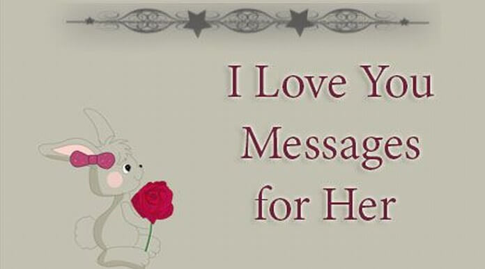 I Love You Messages for Her