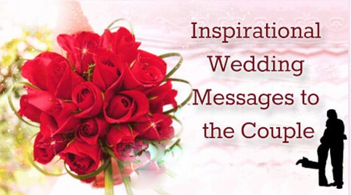 Inspirational Wedding Messages to Couple
