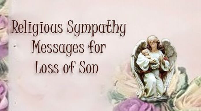 Religious Sympathy Messages for Loss of Son
