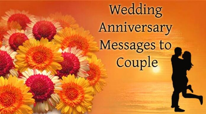 Wedding Anniversary Messages to Couple
