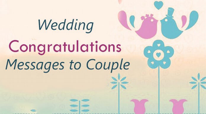 Wedding congratulations messages to couple popular messages m4hsunfo