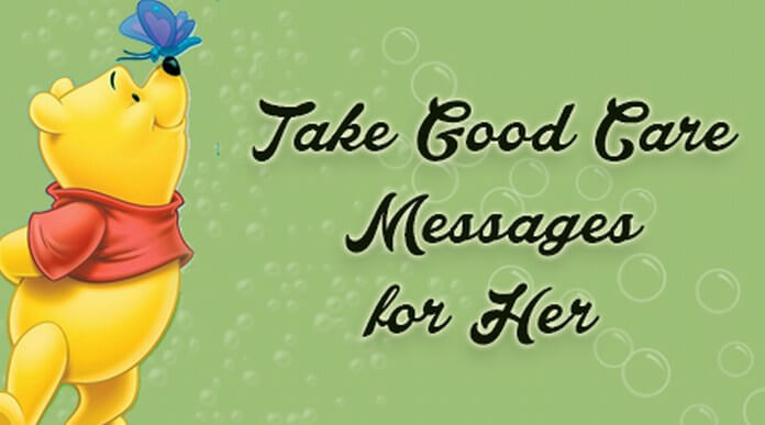 Take Good Care Messages for Her