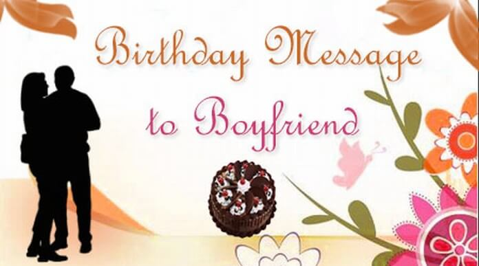 Boyfriend Birthday wishes and messages