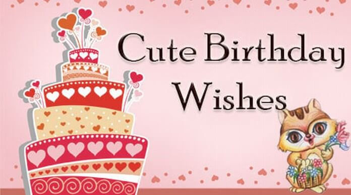 Cute birthday wishes and messages cute birthday wishes messages m4hsunfo