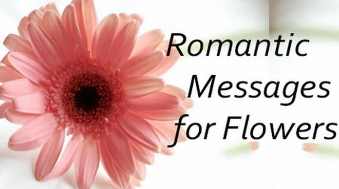 Flowers Romantic Messages