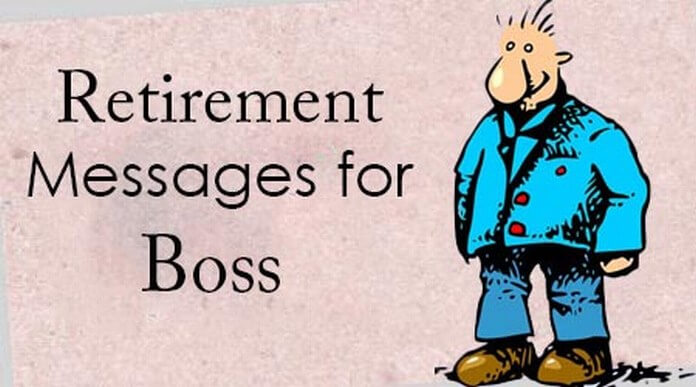 Retirement Messages for Boss