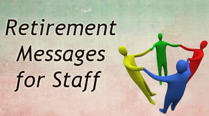 Staff Retirement Messages