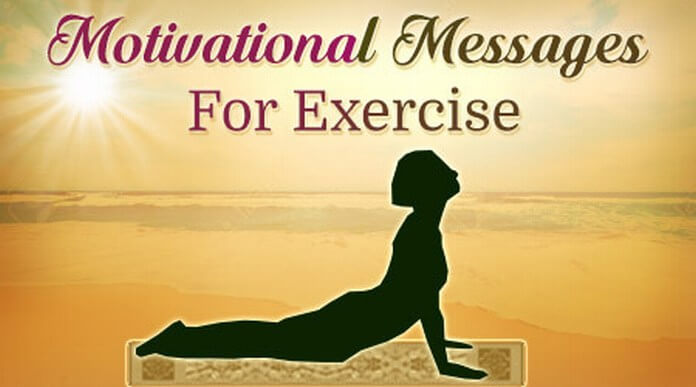 Motivational Messages for Exercise