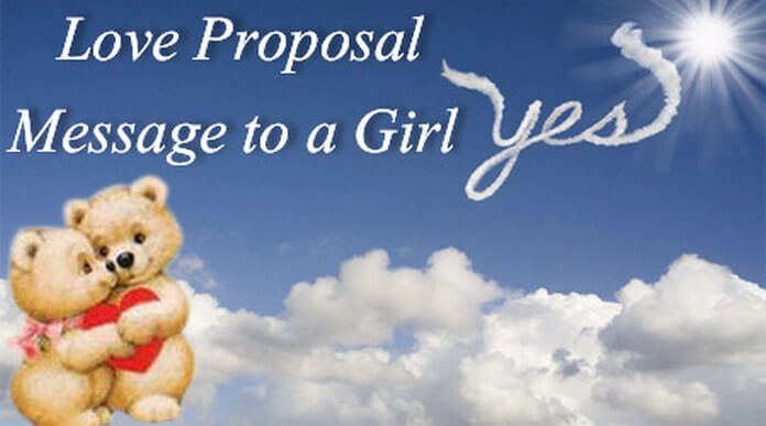 Love Proposal Message to a Girl
