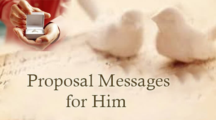 Proposal Text Messages for Him