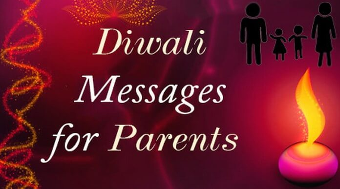 Parents Diwali Messages